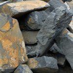 Steine plattenförmig